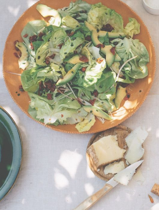 botersla recept salade avocado